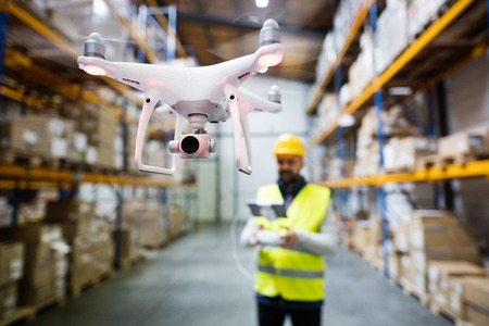 Warehouses and Drones